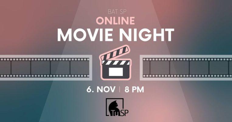 Tiešsaistes filmu vakars!